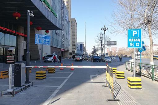 """顶杰集团与盘锦鹏欣·水游城合作建设智能化""""无人值守""""停车场"""